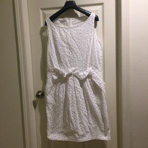 Moschino white embroidery dress